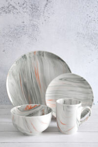 Marble Color Glaze Porcelain